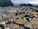Alesund Norvégia egyik legszebb városa