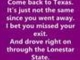 Bowling for Soup - Ohio (Come back to Texas) Lyrics